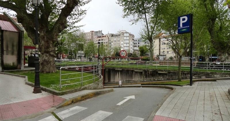 Parking en pontevedra plaza barcelos masaveu for Plaza de aparcamiento