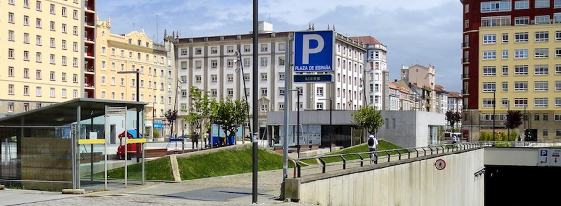 Parking en ferrol plaza de espa a ferrol masaveu for Plaza de parking alquiler