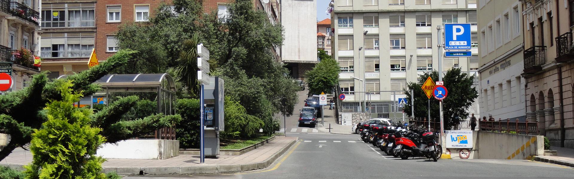Parking Plaza Numancia, Santander